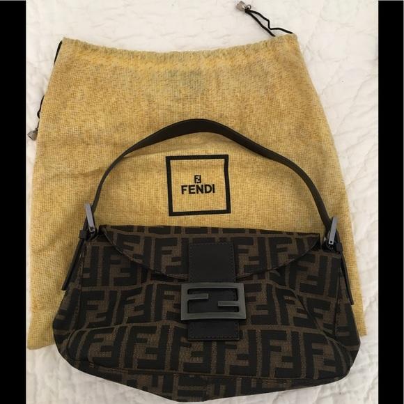 Fendi Handbags - Fendi Zucca Baguette 9e9df87309d48